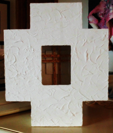 Gold Cross Box