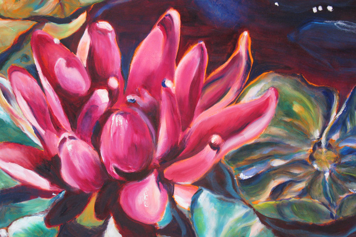 Vermilion Lotus